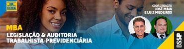MBA Legislação Trabalhista & Auditoria Previdenciária